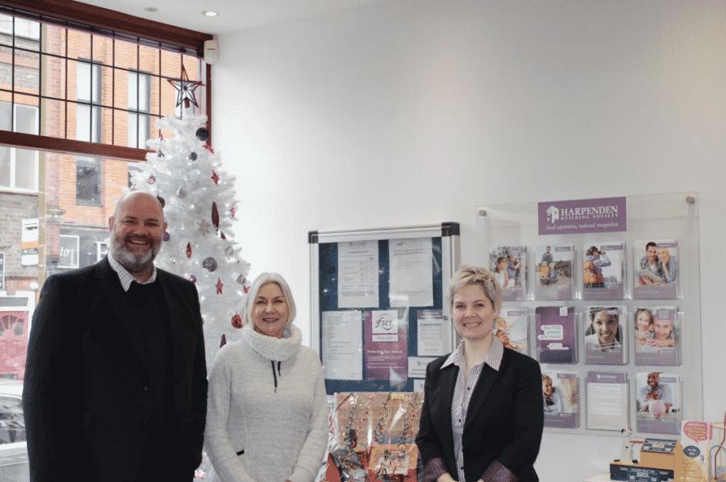 Winner of Harpenden Branch Christmas Raffle