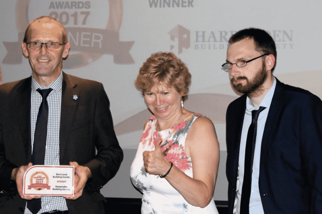 Winners of 'Best Local Building Society award for third consecutive year