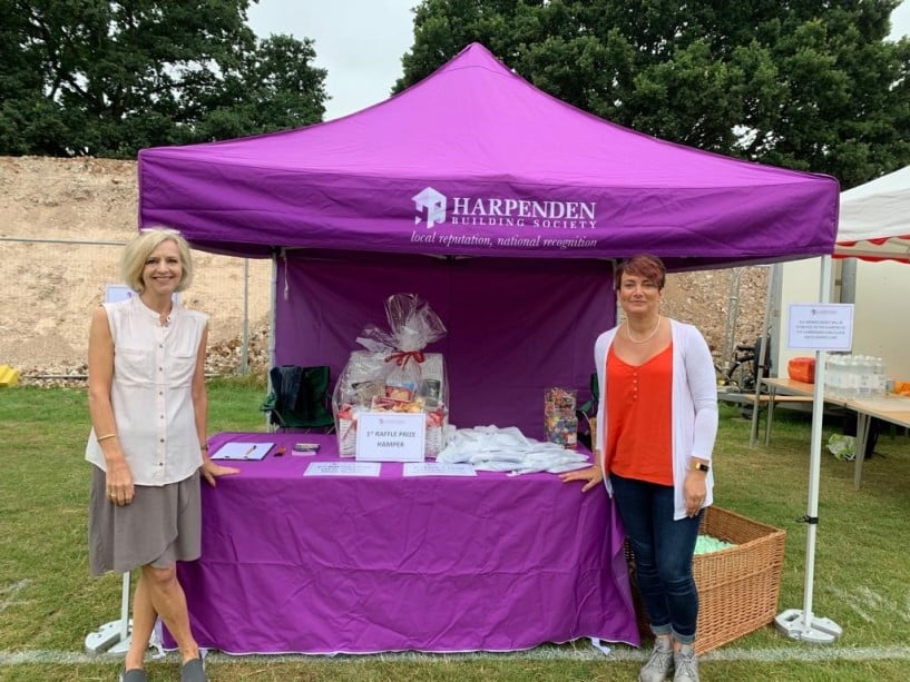 Harpenden Building Society attend annual Highland Gathering festival