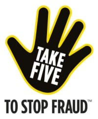 Take Five - to stop fraud